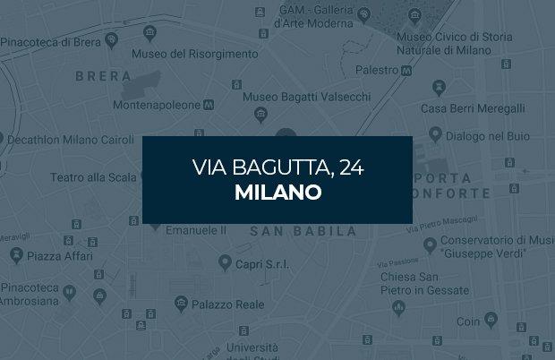 Almini, Via Bagutta, 24, Milano