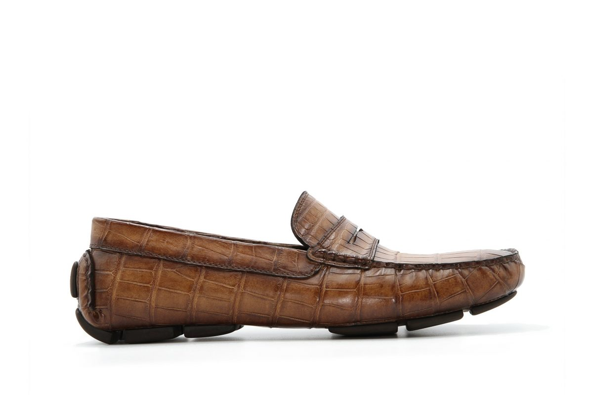 LA STEVE - ALLIGATOR - LEATHER